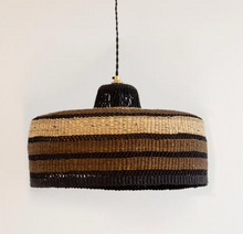 Load image into Gallery viewer, 'High Life' Hand Woven Pendant, Medium - Noisette