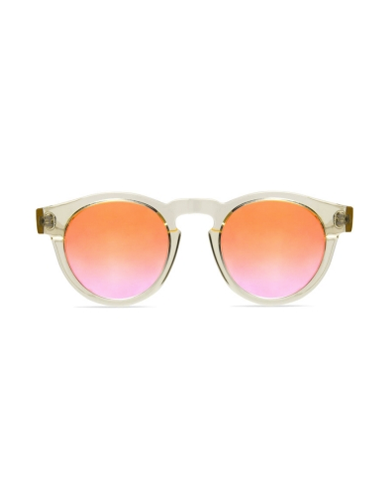Leonard Sunglasses | Champagne with Mirrored Rose
