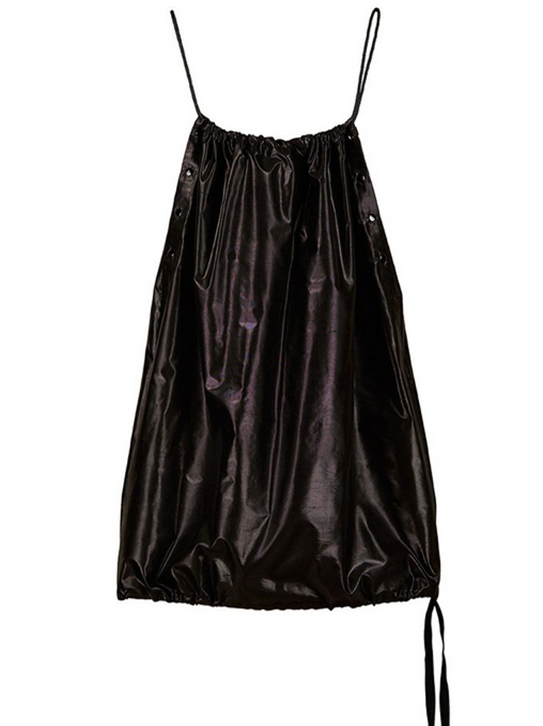 Drawstring Dress Silk