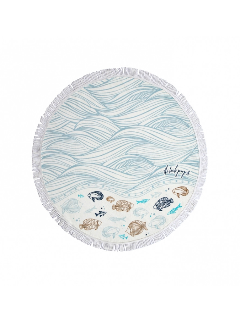 Kids Round Towel