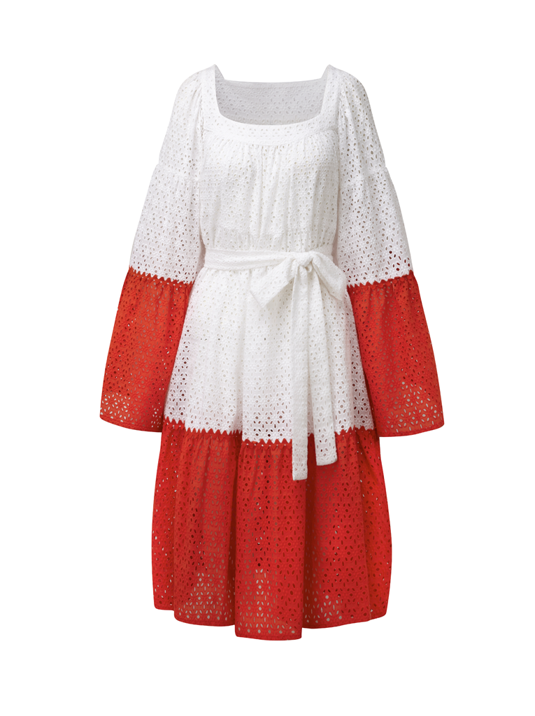 Short Peasant Dress