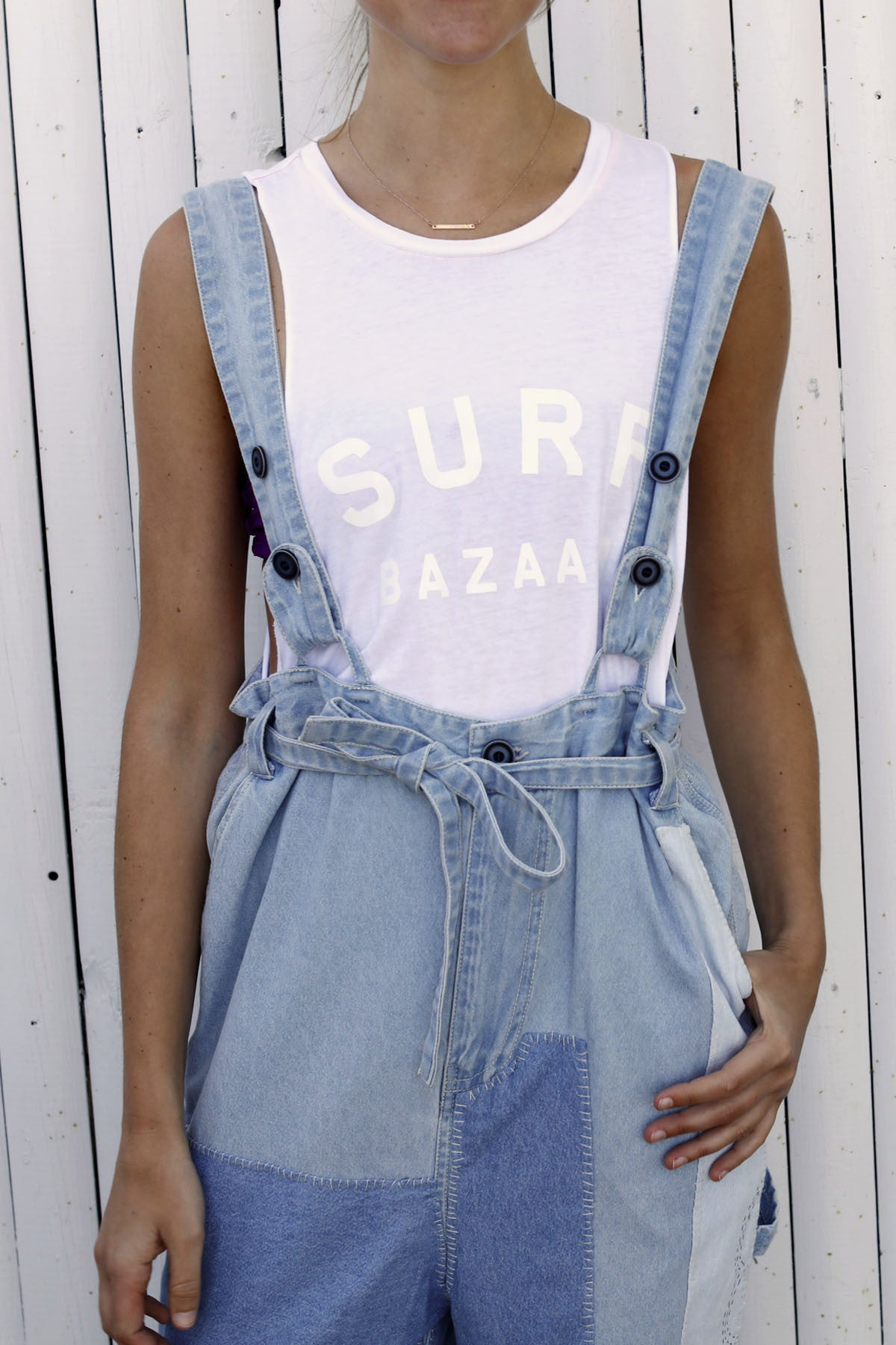 Surf Bazaar Logo Sleeveless Tee