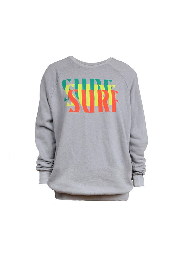Surf Repeat Crew Sweatshirt