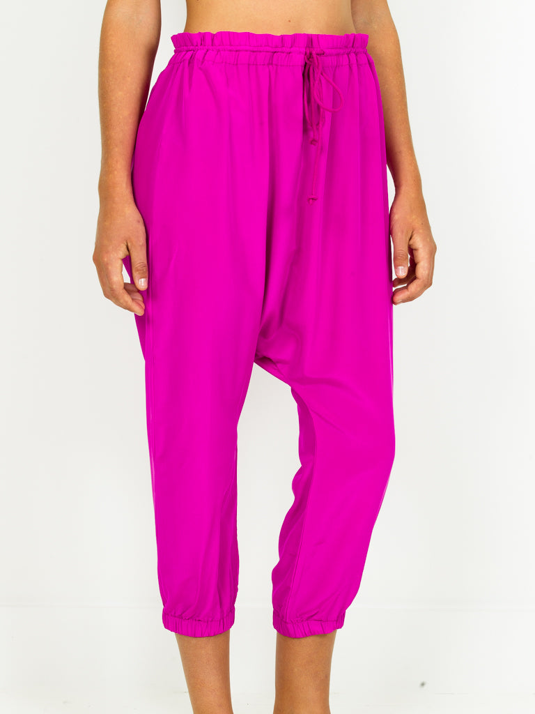 Silk Harem Pant - 4 colors
