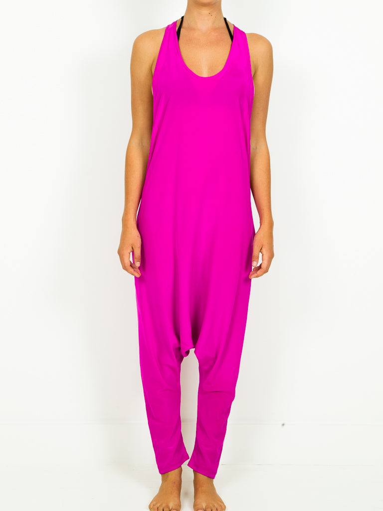 Silk Harem Jumpsuit - 2 Colors