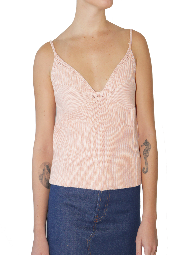Cotton Knit Cami
