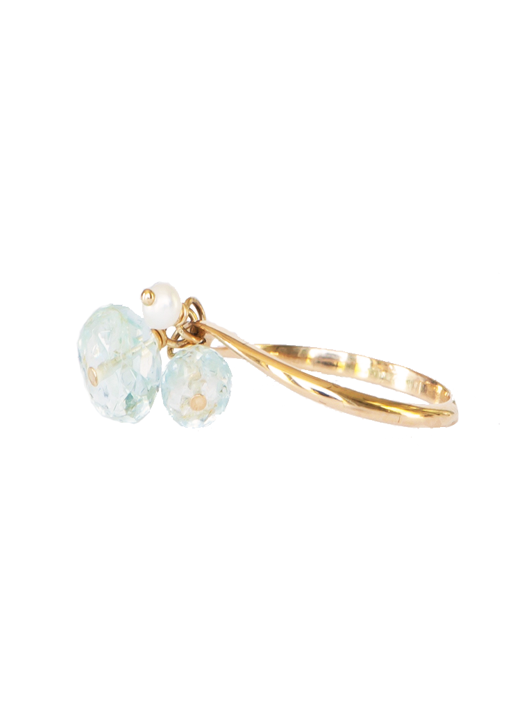 Dangle Gem Ring