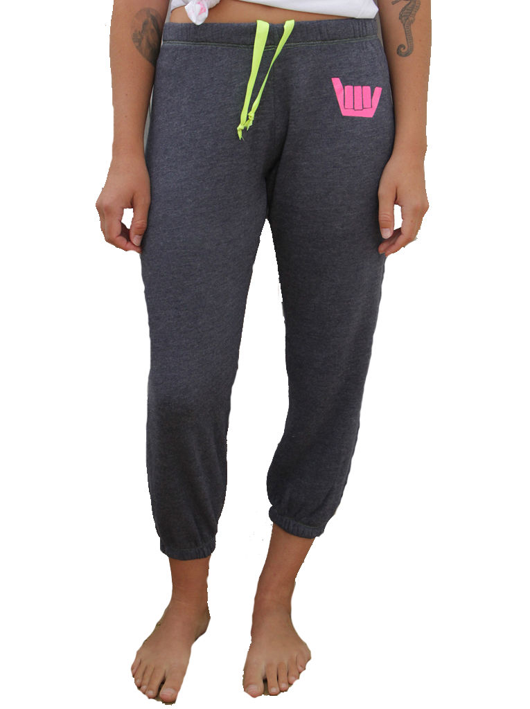 Shaka Cropped Sweatpant