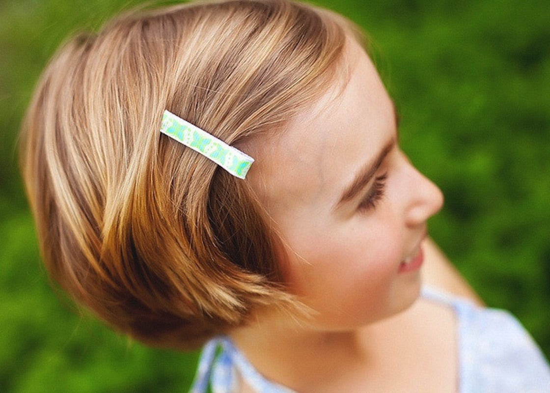 Set de 8 Barrettes Anti-Glisse Couleurs Vives