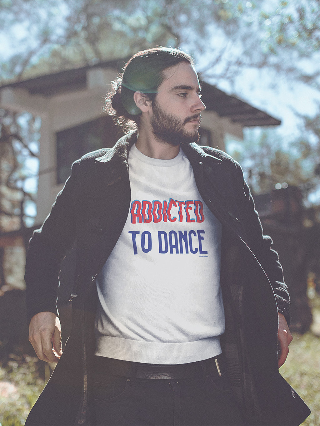Addicted to Dance Sweater Unisex White
