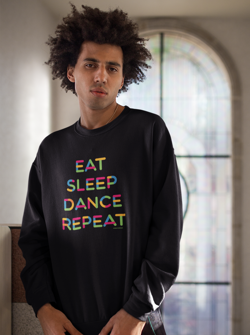 Eat Sleep Dance Repeat Unisex Sweater