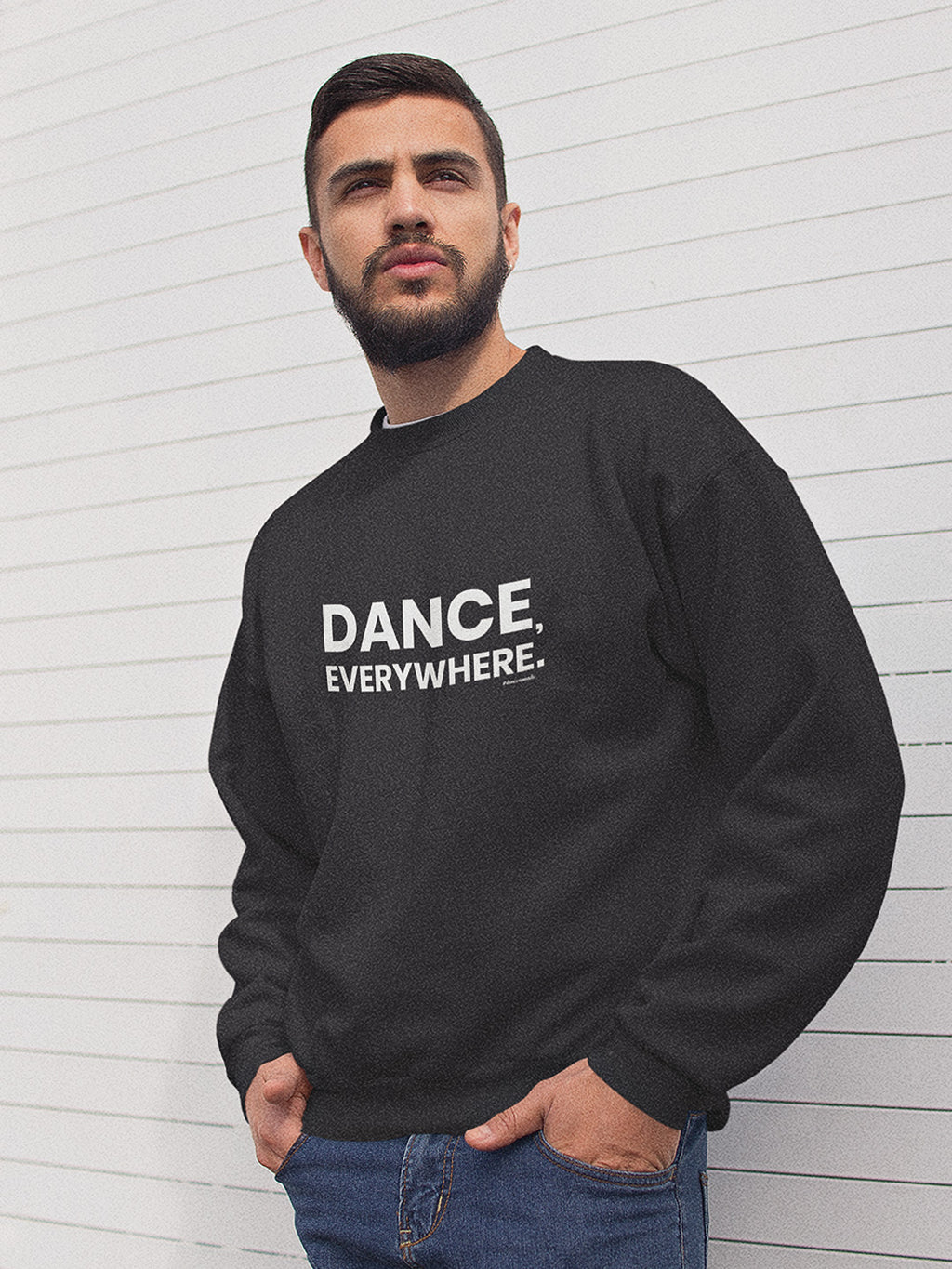 Dance Everywhere Unisex Sweater Black