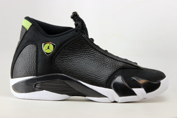 "Air Jordan 14 Retro ""Black/Vivid Green"" - Release Details"