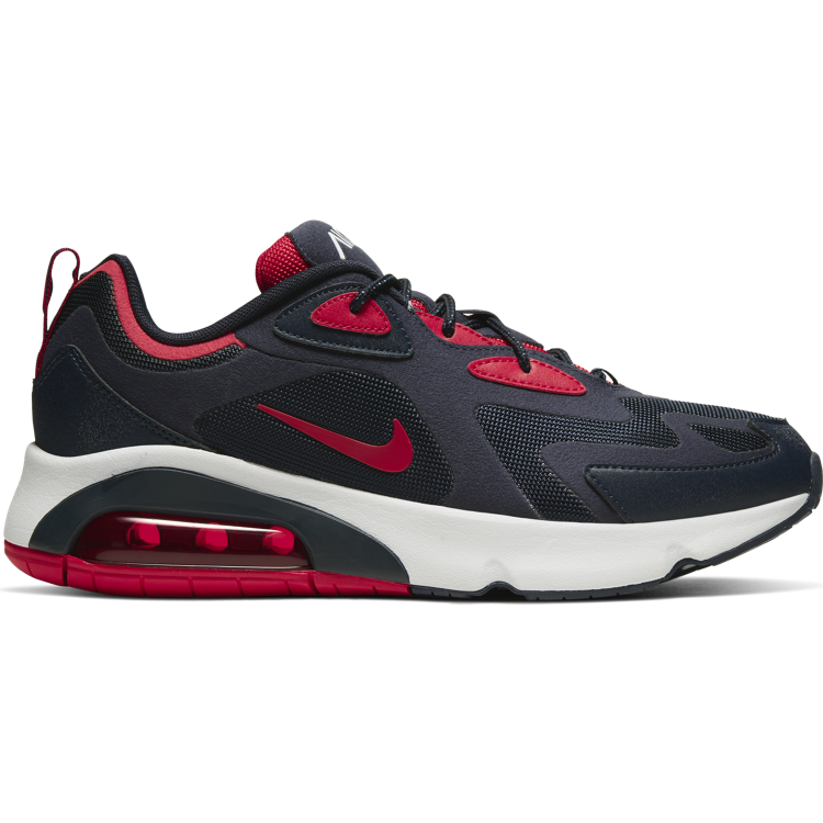 "Nike Air Max 200 ""OBSIDIAN/UNIVERSITY RED-SUMMIT WHITE"""