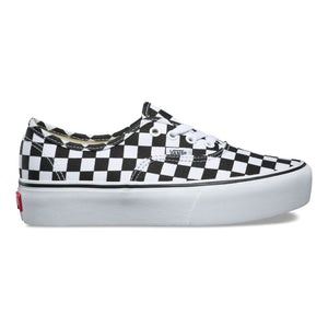 "Vans Authentic Platform 2.0 ""Black/Checkerboard"""