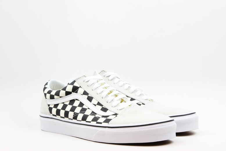 "Vans Old Skool Checkboard ""White/Black"""