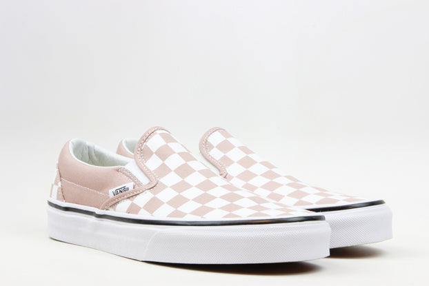 "Vans WMNS Slip-On Checkerboard ""Mahogany Rose"""