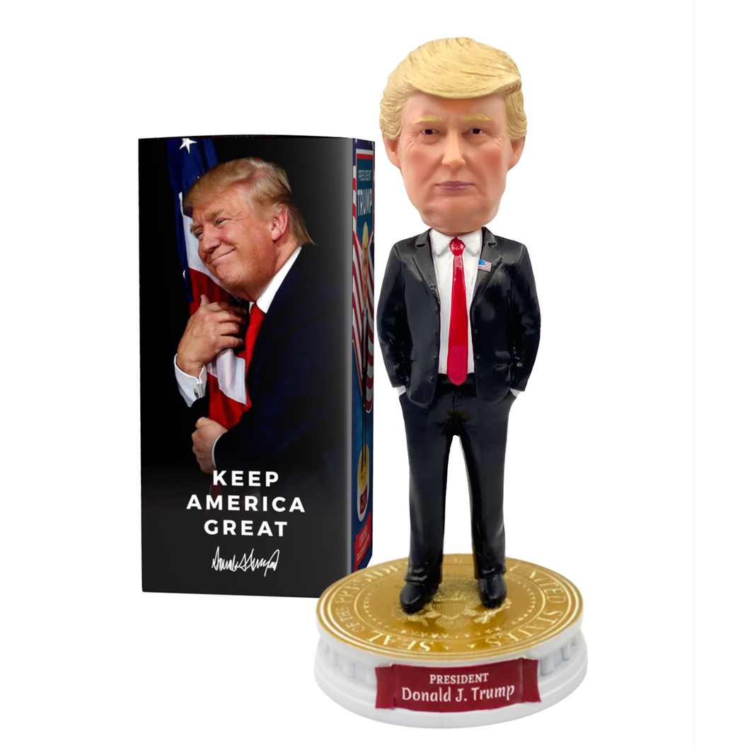 President Donald Trump Bobblehead • Limited Collector's Edition