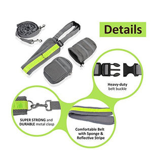 Pet-Fit™ Shock Absorbing, Hands-Free Leash