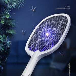 USB Rechargeable Mosquito Swatter and Lamp