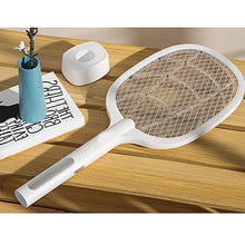 Load image into Gallery viewer, USB Rechargeable Mosquito Swatter and Lamp