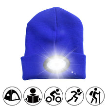 Load image into Gallery viewer, LED Rechargeable Winter Beanie