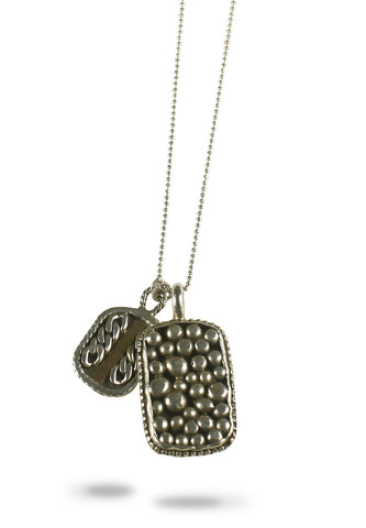 AMAN ITOMI DOG TAG NECKLACE