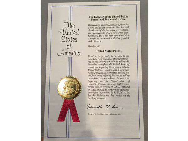 Patent Awarded