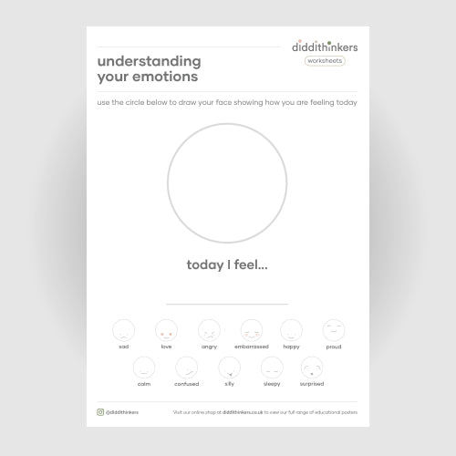 understanding your emotions worksheet