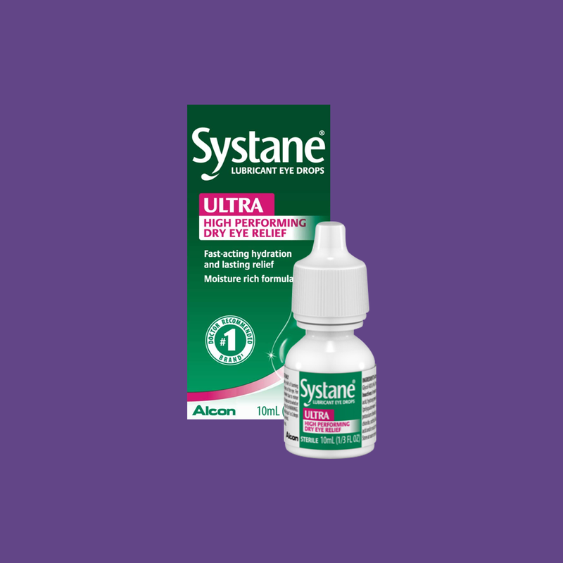 Systane Ultra High Performance Lubricant Eye Drops 10mL Bottle