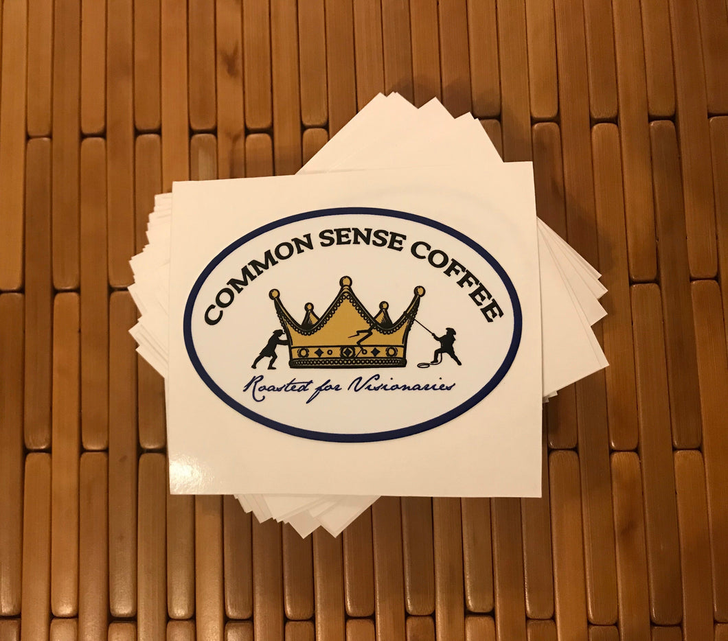 Common Sense Logo Decal
