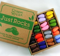 Crayon Rocks - 64 - Just the Rocks in a Box
