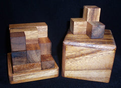 Soma Cube - Wooden Puzzle