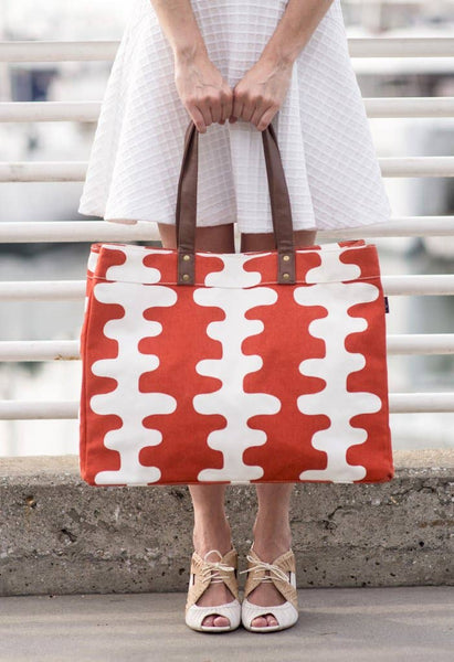 Echo Tangerine Carryall Tote