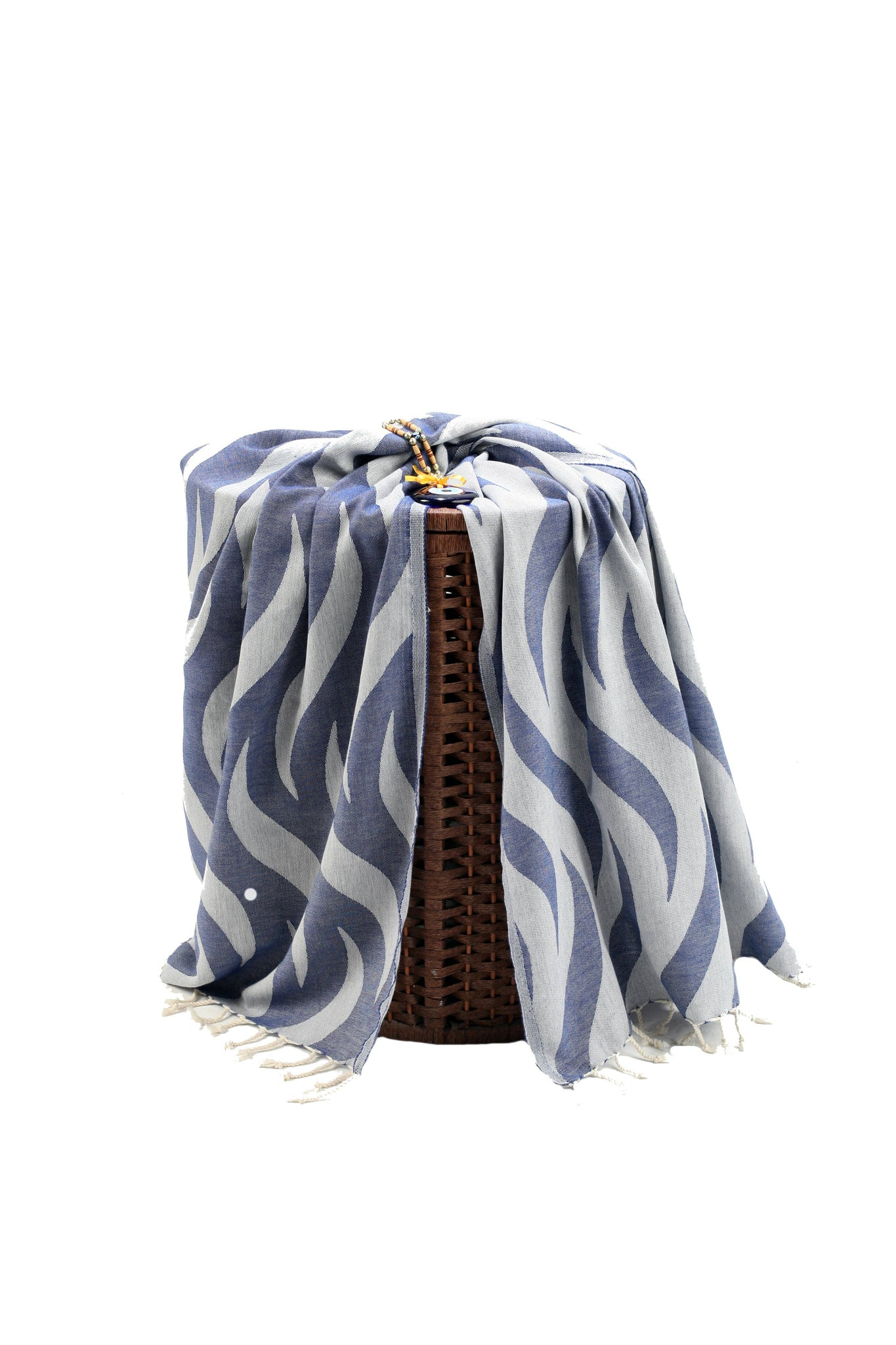 Navy Blue Premium Turkish Peshtemal Fouta Towel