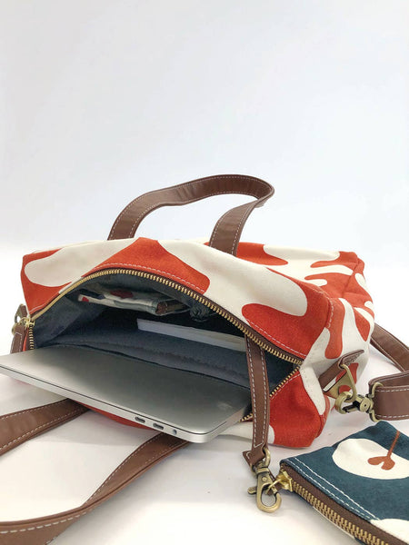 Echo Tangerine Commuter Tote