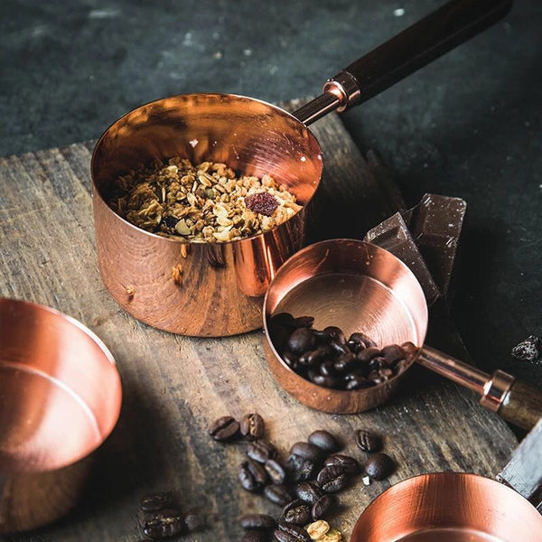 Rose Gold Stainless Steel Measuring Cups