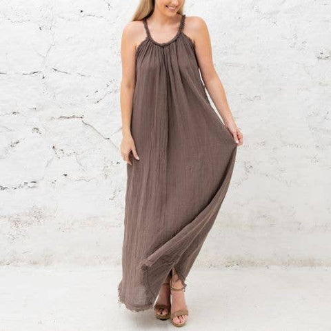 Serena Taupe Dress
