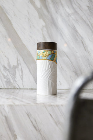 Golden Boughs Tea Tumbler