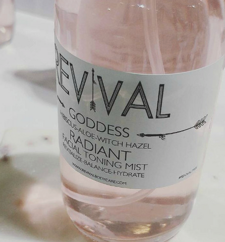 Revival Goddess Radiant Facial Toning Mist