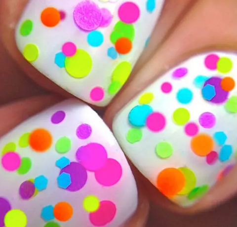 Flirty - Polka Dot Nail Polish