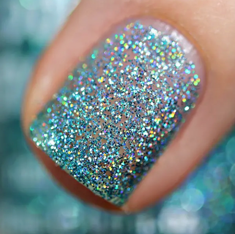 Chill Out - Rainbow Holographic Sparkle Nail Polish