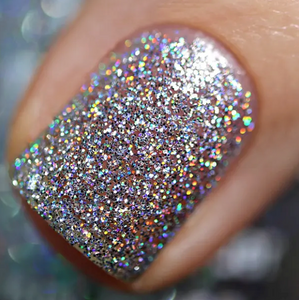 Disco Ball - Rainbow Sparkle Nail Polish