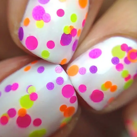 Pucker Up - Polka Dot Nail Polish