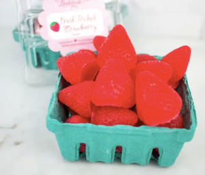 Strawberry Soap 1/2 Pint