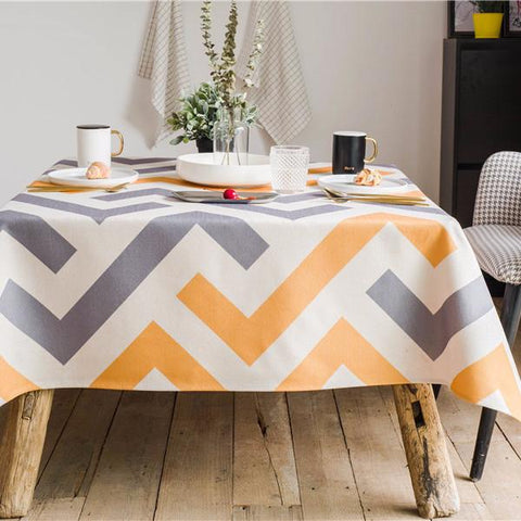 Moderne Indoor / Outdoor Tablecloth