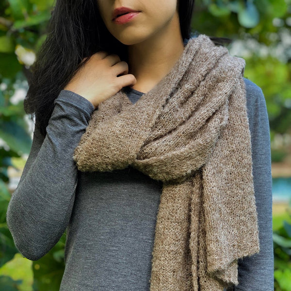 Autumn Ultra Plush Alpaca Scarf