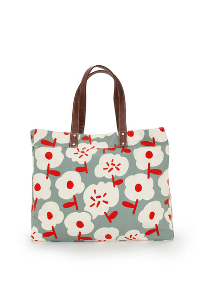 Sierra Canvas Carryall Tote