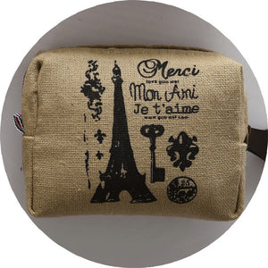 Eco-friendly Canvas Coin Purse/ Key Pouch