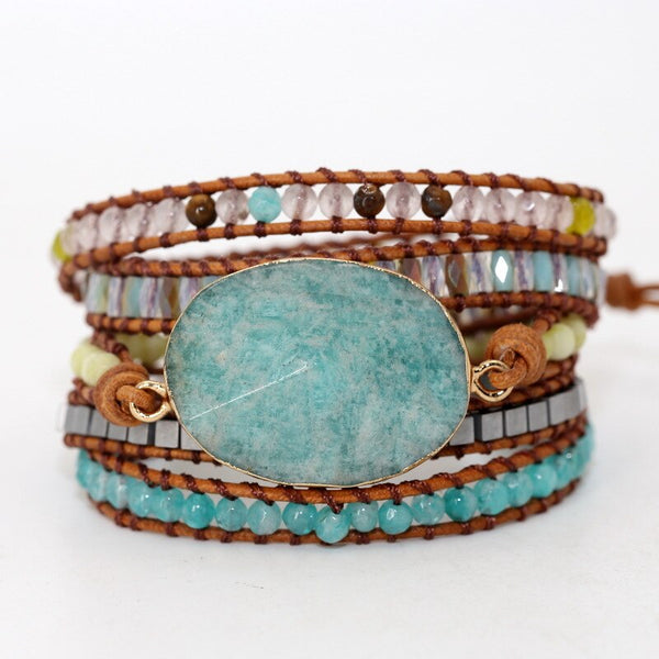 Handmade Ancient Natural Tianhe Stone Bracelet